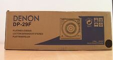 NEW Denon DP-29F Fully Automatic Turntable Sealed Retail Box