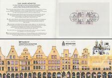 Klappkarte Bundespost Direkt. Münster. 1200Jahre Münster (Viererblock MiNr.1645)