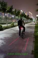 BICYCLE LED & LASER REAR RED SAFETY TAIL LIGHT..