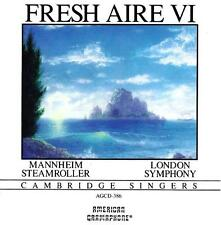 MANNHEIM STEAMROLLER - Fresh Aire VI (CD 1986) USA Import EXC-NM London Symphony