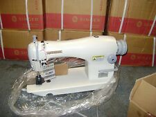 NEW SINGER 191D-30 SINGLE NEEDLE INDUSTRIAL SEWING MACHINE HEAD ONLY