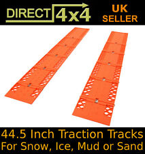"Tyre Grip 44.5"" Traction Tracks Snow Mud Sand Rescue Gripper Escaper Mats"