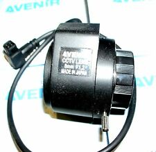 "1/3"" Avenir direct drive Iris F1.2, 8 mm,  CS-Mount CCTV Lens Japan. New in Box"