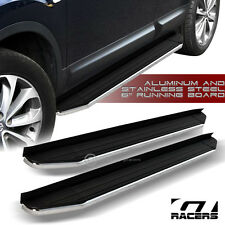"2010-2016 EQUINOX/TERRAIN 6"" HD ALUMINUM BLK/CHROME SIDE STEP RUNNING BOARDS VP"