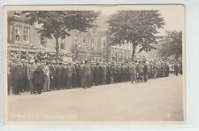 King's Visit To Frodsham 8th July 1925 Gas And Water Shop Westminster Bank RP