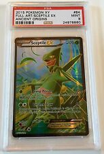 Pokemon Ancient Origins XY EX Full Art Sceptile #84 PSA 9 MINT
