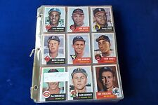 1953 TOPPS ARCHIVE COMPLETE BASEBALL SET WITH MICKEY MANTLE & WILLIE MAYS