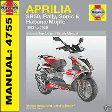 Aprilia Habana Retro Custom 49cc 1999 to 2002 Haynes Manual 4755 NEW