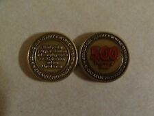 CHALLENGE COIN CSC ARMY PROGRAMS 500 FEBRUARY 2006 SERVING OVER 40 YEARS
