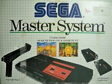 D1070181 SEGA MASTER SYSTEM COMPLETE IN BOX TESTED 100% WORKING GAME SYSTEM