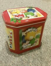 M&M's 2004 Christmas Village Canister #18 Limited Edition PHOTO BOOTH Tin Box