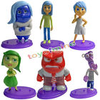 6 pcs/set Inside Out toys PVC Figure Anger Joy Fear Disgust Sadness kids gifts
