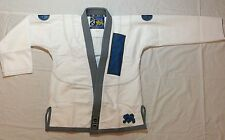 New Shoyoroll Bjj Gi (White) Perl Wave 450gsm 10 oz Ribstop Pant Art work