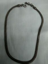 Nice Bali sterling BA 925 Suarti flat woven  necklace