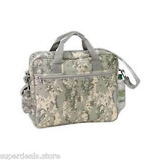 Digital Camo Deluxe Business Portfolio with Cell Phone Pocket and Bottle Holder