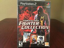Namco Classic Fighter Collection Playstation 2 (PS2) 3 Games Soul Calibur II NEW