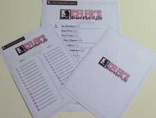 Celebrities Down The Aisle Hen Night Party Games