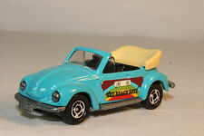 TOMICA POCKET CARS #F23 VOLKSWAGEN VW 1303S BEETLE BUG CONVERTIBLE, BEACH BOYS