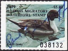 1979 Illinois State Duck Stamp Used F-VF