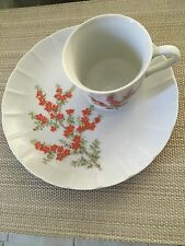 The Toscany Collection RICHMOND Vintage Teacup and Snack Plate Set