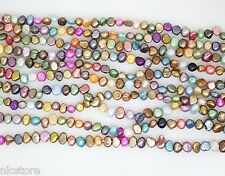 wholesale lots 10strands freshwater mix color Baroque pearl loose beads gem st