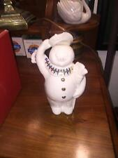 Lenox China Jewels Merry Snowman (1995) - Perfect Condition in Box