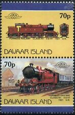 1921 Furness Railway Class N1 4-6-4T (LMS) Train Stamps (Davaar)
