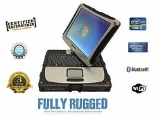 Panasonic Toughbook  Laptop Cf 19 Finger Touch Windows Vista  2 Year Warranty
