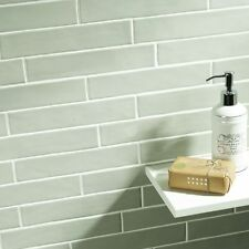 Sample of Country Sage Ceramic Wall Tile 5 x 25cm