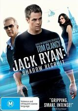 Jack Ryan: Shadow Recruit (DVD, 2014) New and Sealed