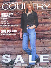 VERONICA VAREKOVA Vintage 1999 Victoria's Secret Country Catalog