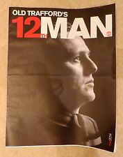 Old Traffords 12th man Manchester United Membership Magazine  March 2014 Man Utd