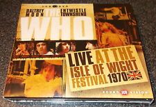 THE WHO-LIVE AT THE ISLE OF WIGHT-2xCD+DVD 2013-MINT