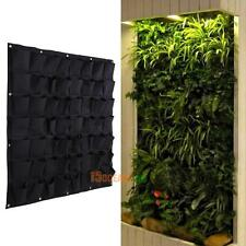 56Pocket Hanging Vertical Wall Garden Planter Indoor Outdoor Herb Pot Home Decor
