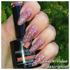 *404* VB™ Line Purple Silver Glitter Color UV/LED Soak Off Nail Gel Polish