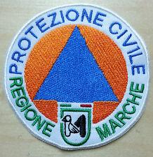 PROTEZIONE CIVILE REGIONE MARCHE -  diametro cm 8 TOPPA - PATCH