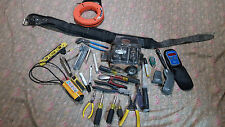 Mix lot of klein hand tools, meters, tool belt over 400 Value