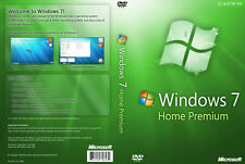 Microsoft Windows 7 Home Premium 64-bit + licencia completa + 1 USB de arranque GENUINO