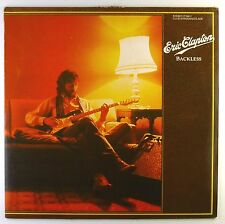 """12"""" LP - Eric Clapton - Backless - C1019 - washed & cleaned"""