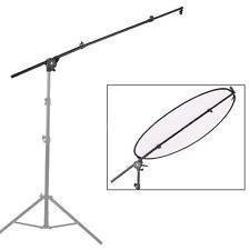 Studio Video Light Reflector Diffuser Holder Tripod Stand Boom Pole Arm V2I9