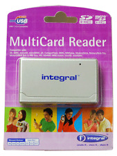 Integral USB 2.0 Desktop MultiCard Reader.