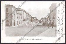 PAVIA MORTARA 45 Cartolina VIAGGIATA 1903 Foto GIROLDI