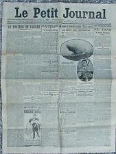 Le Petit Journal (7 nov 1910) Maîtrisse de l'océan - Dirigeable anglais