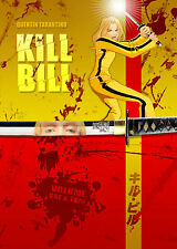 A4 POSTER-Kill Bill 1 & 2 (Blu-Ray DVD MOVIE FILM QUENTIN TARANTINO UMA THURMAN)