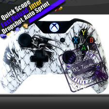 White Dragon xbox One Modded Rapid Fire Controller COD Ghosts AW Black Ops 3