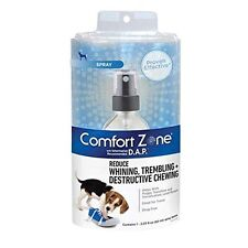 COMFORT ZONE Dog Appeasing Pheromone Spray Behavior Control DAP Spray Dogs 60ml