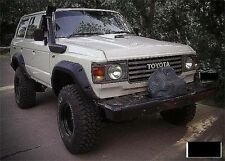 Toyota Land cruiser 60 series Wide wheel arches fender flares extension.