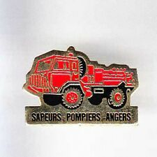 RARE PINS PIN'S .. POMPIER FIRE  CAMION TRUCK ANGERS 49 ~AL