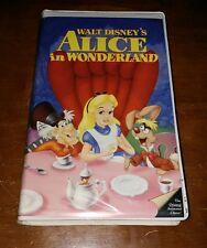 RARE WALT DISNEY'S ALICE IN WONDERLAND VHS BLACK DIAMOND CLASSICS