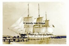 rp17318 - Unknown Whaler at New Bedford - photo 6x4
